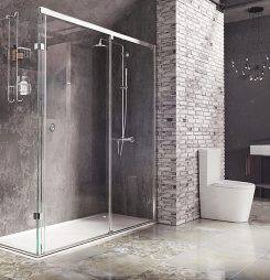 Create bathroom envy with Roman's latest designs